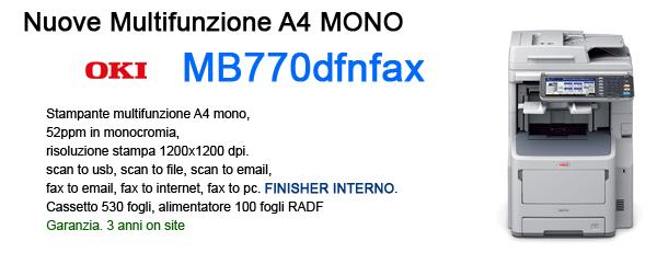 OKI MB770dfnfax