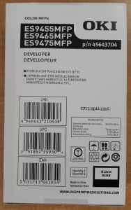 45643704  DEVELOPER-K-ES9455/65/75 (70k)